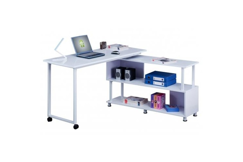 Mesas de ordenador para esquinas for Mesas pequenas ordenador
