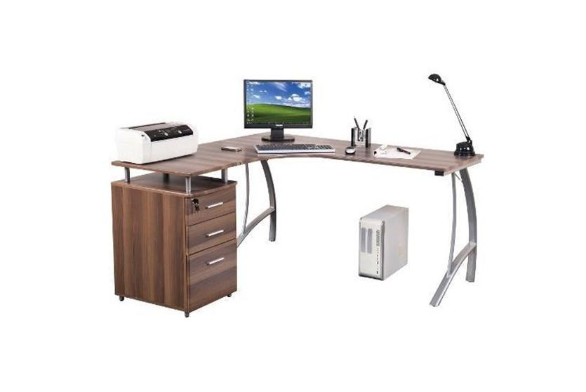 Mesas de ordenador para esquinas - Mesa ordenador pequena ...