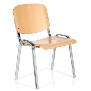 Ventajas de las sillas de escritorio de madera for Silla escritorio sin ruedas