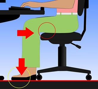 Sillas Oficina Para Dolor Espalda.Como Sentarse Bien En La Oficina