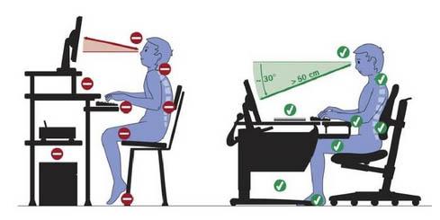 Sillas de escritorio infantiles para mejorar su postura for Sillas para una buena postura