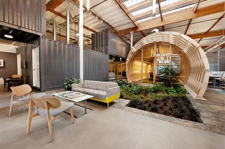 La splantas cobran proagonismo en decoracion de oficinas modernas