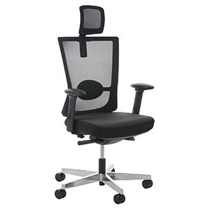 Ejemplo claro de silla de oficina no incómoda: modelo NILO PRO
