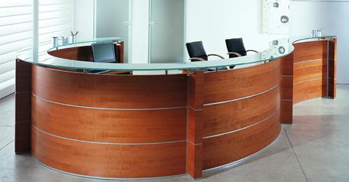 C mo elegir los muebles de recepci n de una oficina for Mobiliario de oficina recepcion