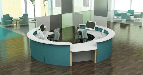 C mo elegir los muebles de recepci n de una oficina for Muebles de oficina recepcion