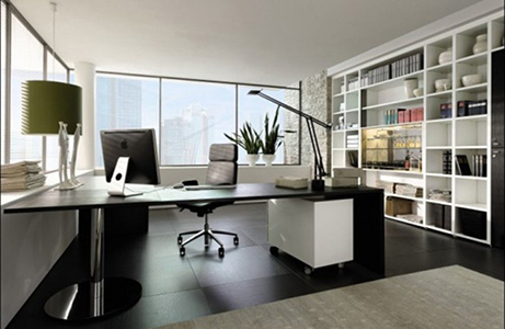 Ejemplo de oficina en casa