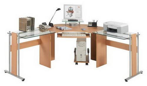 C mo organizar un escritorio aumenta la productividad for Mesa escritorio l
