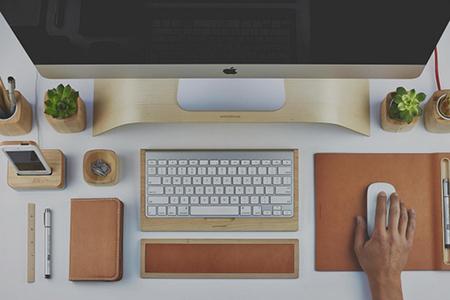 Ejemplo de cómo organizar un escritorio