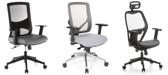 tamaños ruedas de sillas escritorio