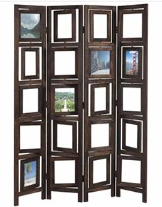 Biombo de oficina DONAR con marcos de foto