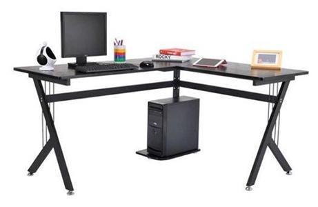 Amueblar oficina con mesa en forma de L modelo ALASKA