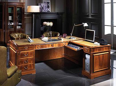 Decoración despacho de abogados estilo elegante