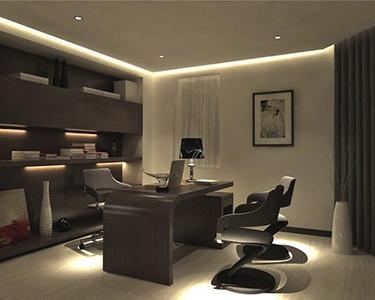 Ejemplos e ideas para despachos modernos for Mobiliario para despachos