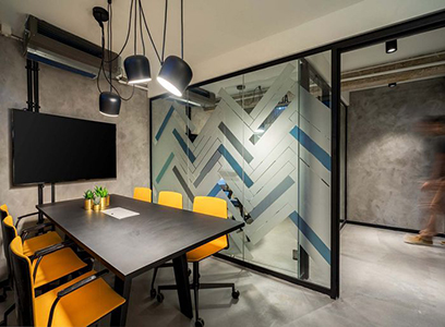 Claves del dise o de oficinas modernas for Small professional office design