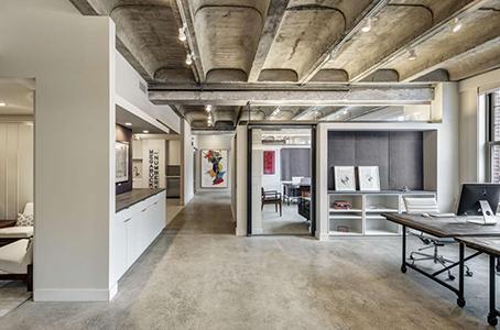 Claves del dise o de oficinas modernas for Estilos de oficinas modernas