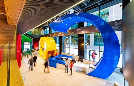 Interior oficinas centrales Google