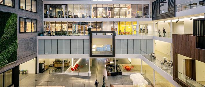 Claves del dise o de oficinas modernas for Oficinas modernas concepto