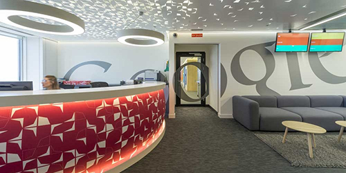 Las oficinas de google por dentro for Oficinas cajasur madrid
