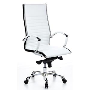 silla oficina blanca diseño