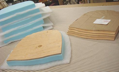 Cómo tapizar una silla de oficina? -