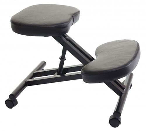 Silla de rodillas con posiciones de ajuste