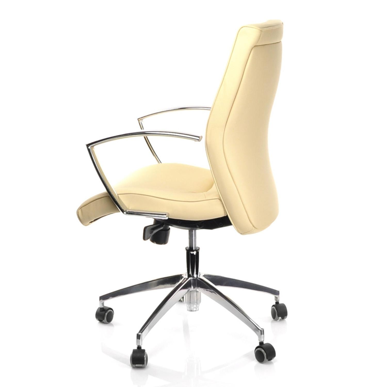 Silla de oficina barbera 10 dise o elegante en cuero fino for Diseno de silla ergonomica