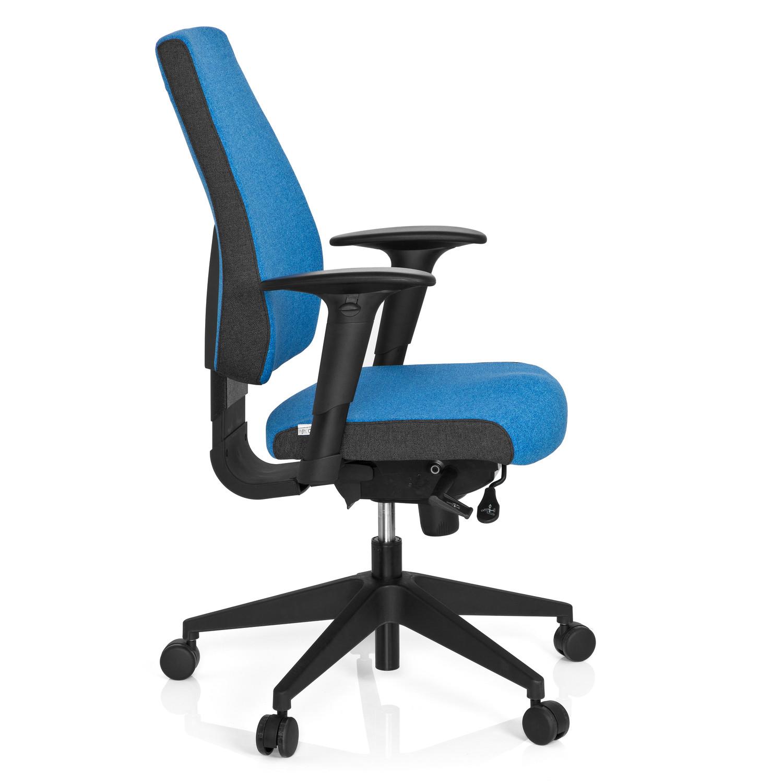 Silla de oficina ergonómica ajustable DETROIT Azul - Ofisillas.es