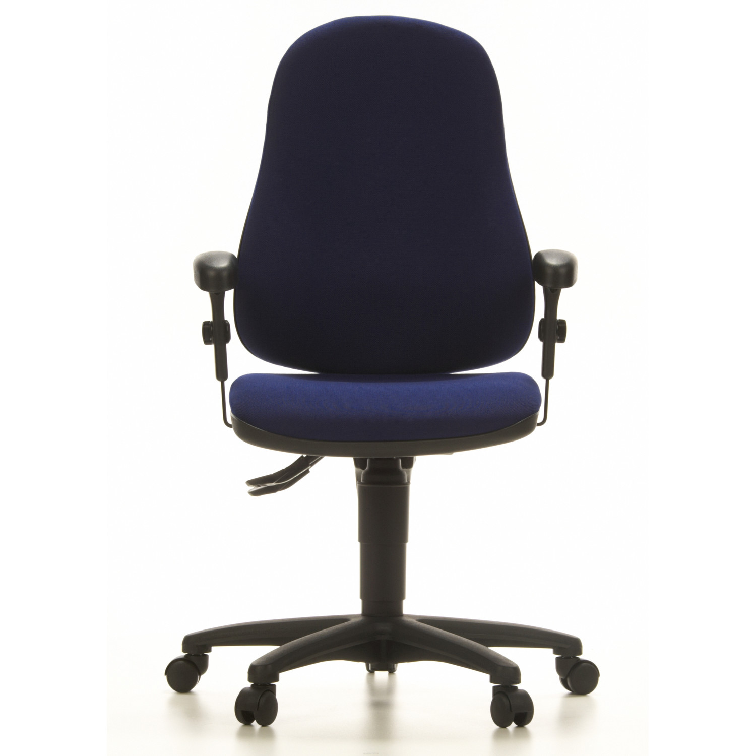 Silla ergon mica california 8h ajustable 100 lga azul for Sillas ergonomicas para oficina
