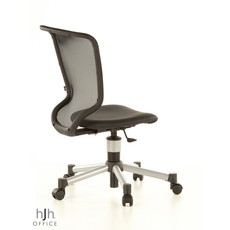 Silla juvenil ergon mica titan junior con respaldo negra for Silla escritorio ergonomica