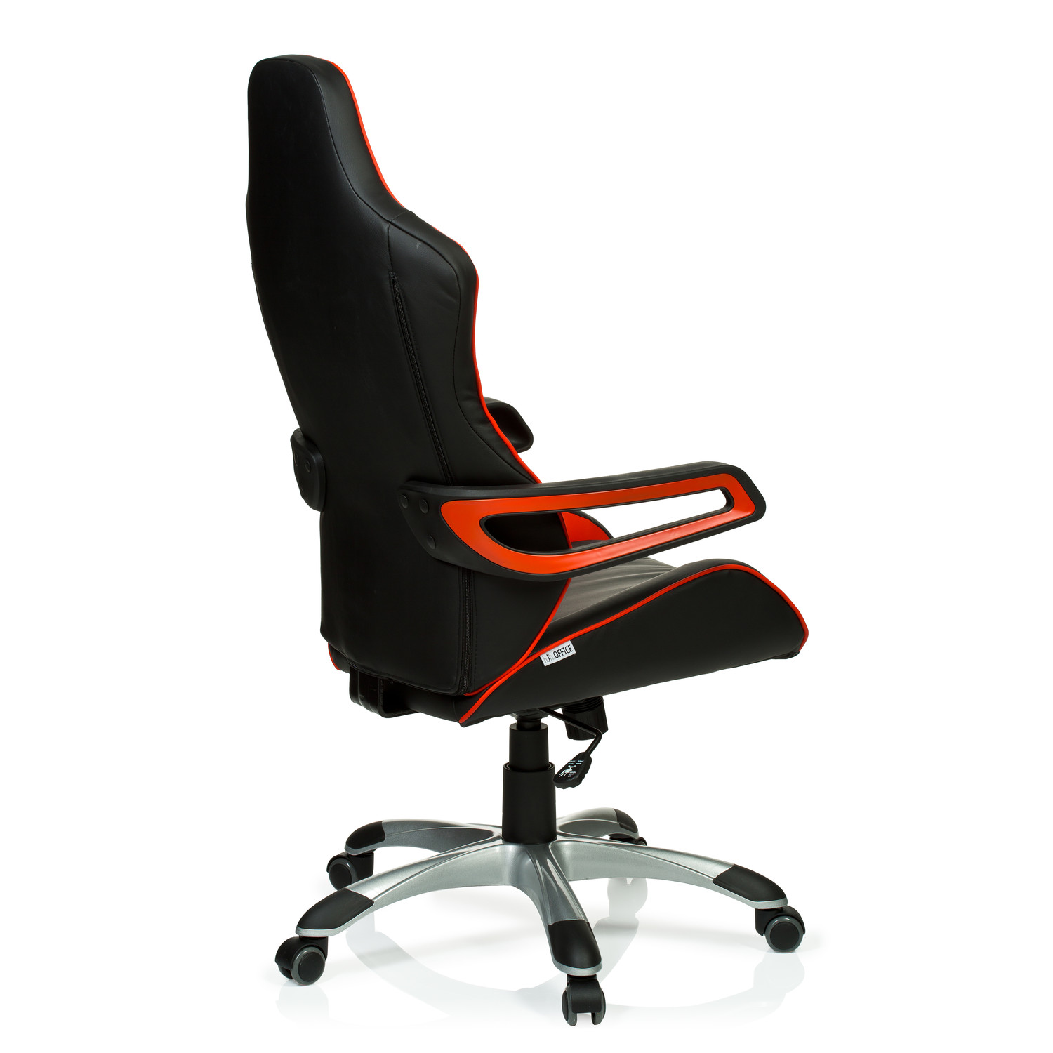Silla de ordenador gaming racer pro en color rojo negro for Silla ordenador gaming