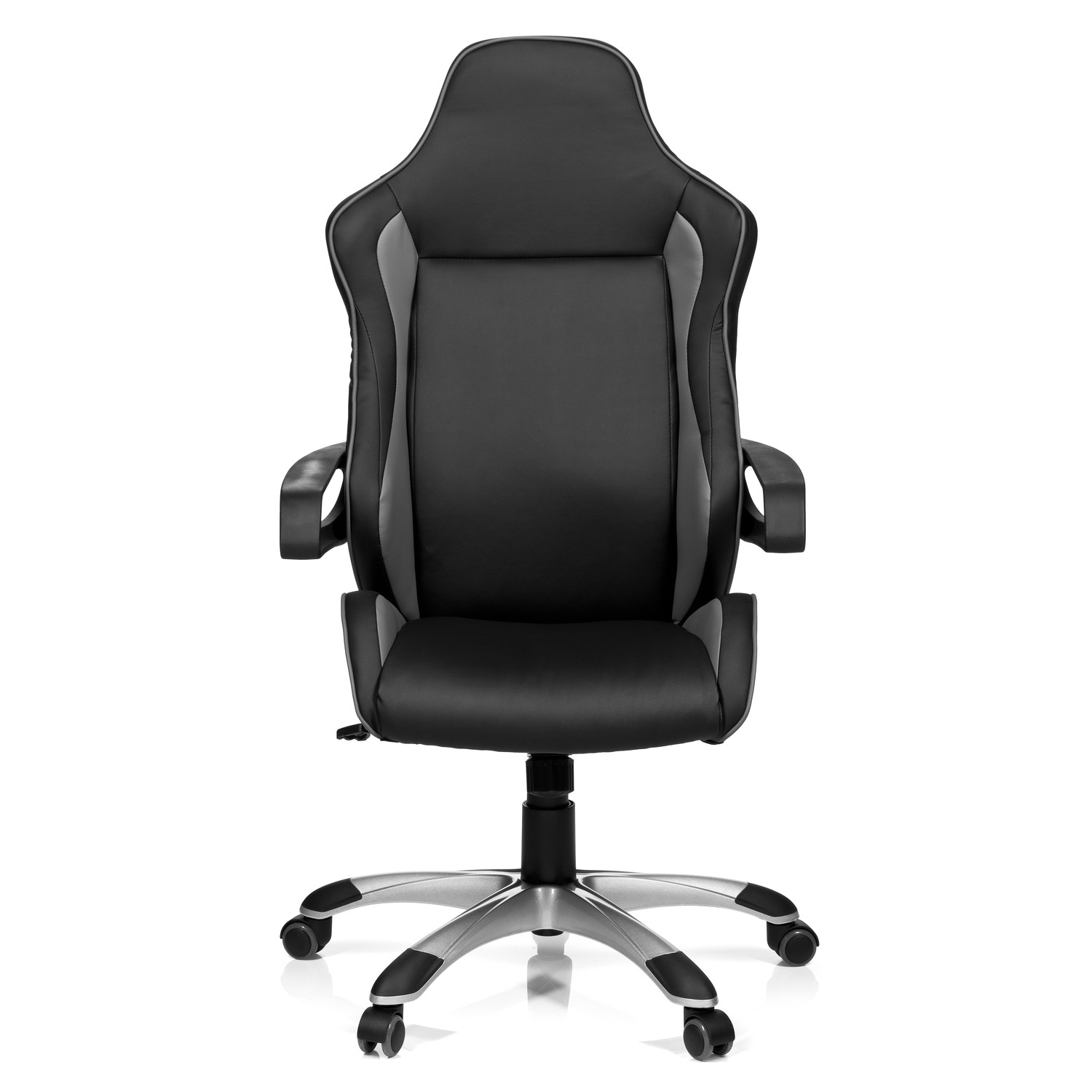 Silla ordenador gaming racer pro en color gris negro for Sillas de ordenador