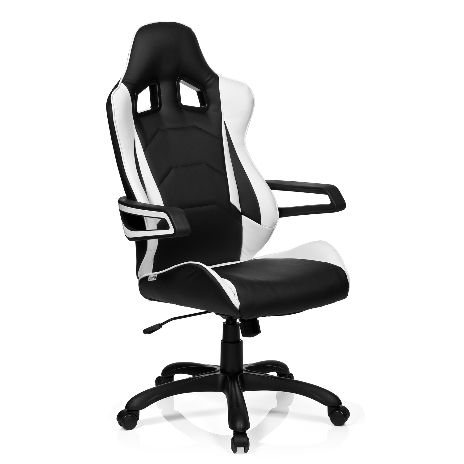 Silla gaming racer pro i uso 8h color blanco negro for Rebajas sillas gaming