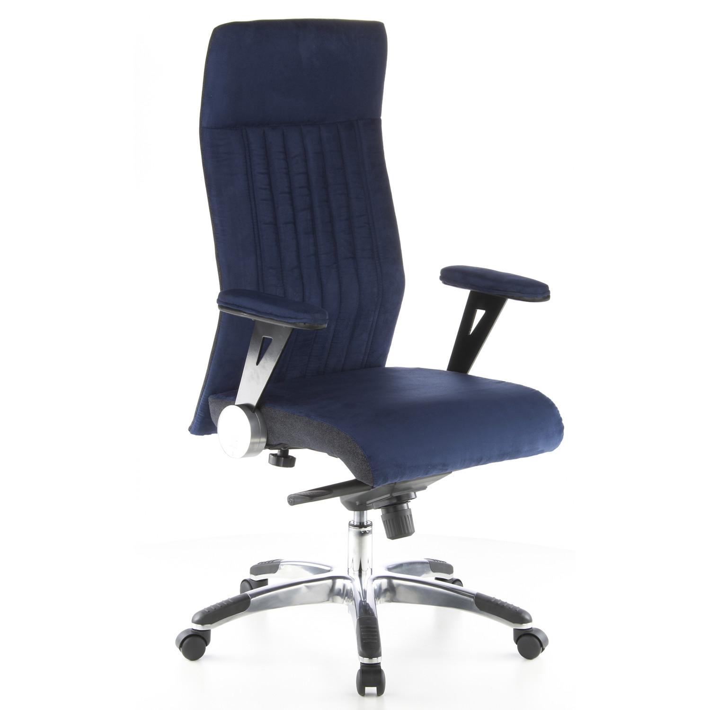 Silla En Nueva Microfibras Confort ErgónomicoColor Y Oficina ContinentalAlto Diseño Azul fg76yYbv