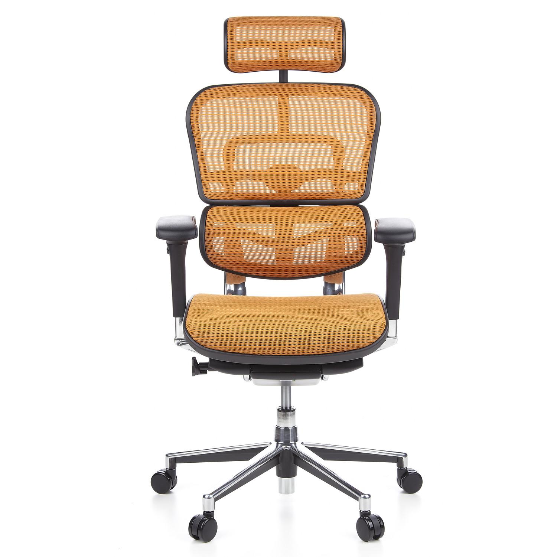 Silla de oficina ergon mica ergomax ajustable color for Soporte lumbar silla oficina