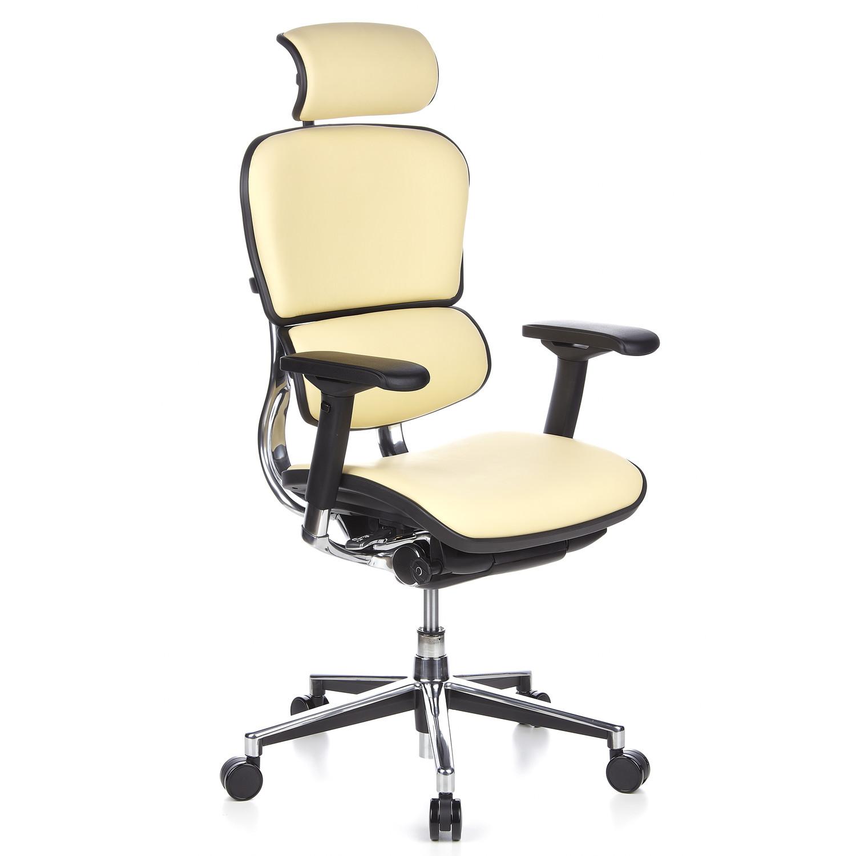 Silla ergon mica ergomax piel 100 ajustable en piel for Sillas de estudio ergonomicas