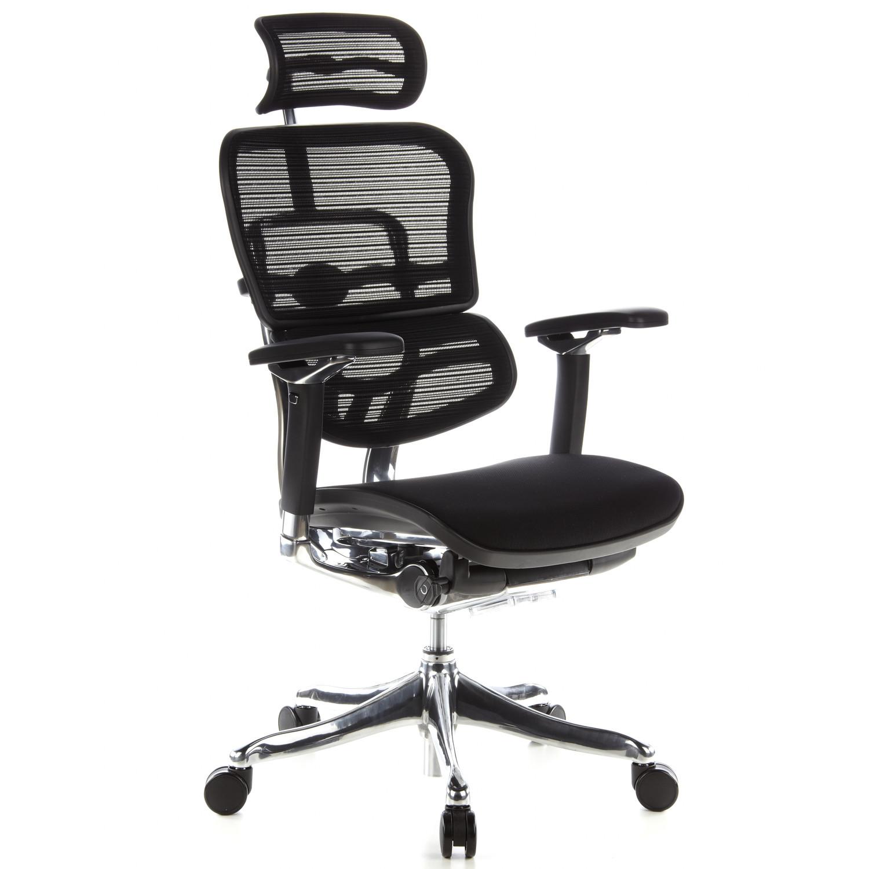 Silla ergon mica ergoplus ajustable soporte lumbar tela for Sillas de oficina ergonomicas