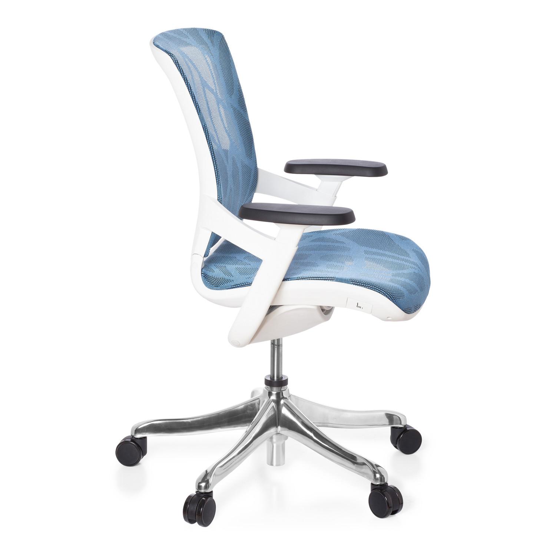 Silla ergon mica airgus malla azul soporte lumbar for Sillas ergonomicas con apoyo lumbar