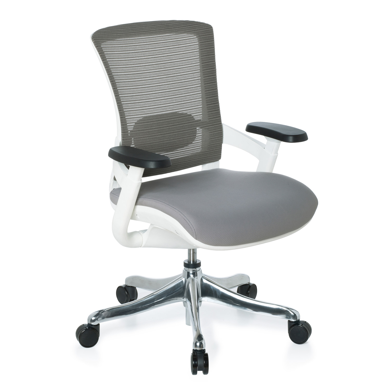 silla ergon mica airgus tela gris soporte lumbar On silla ergonomica con soporte lumbar