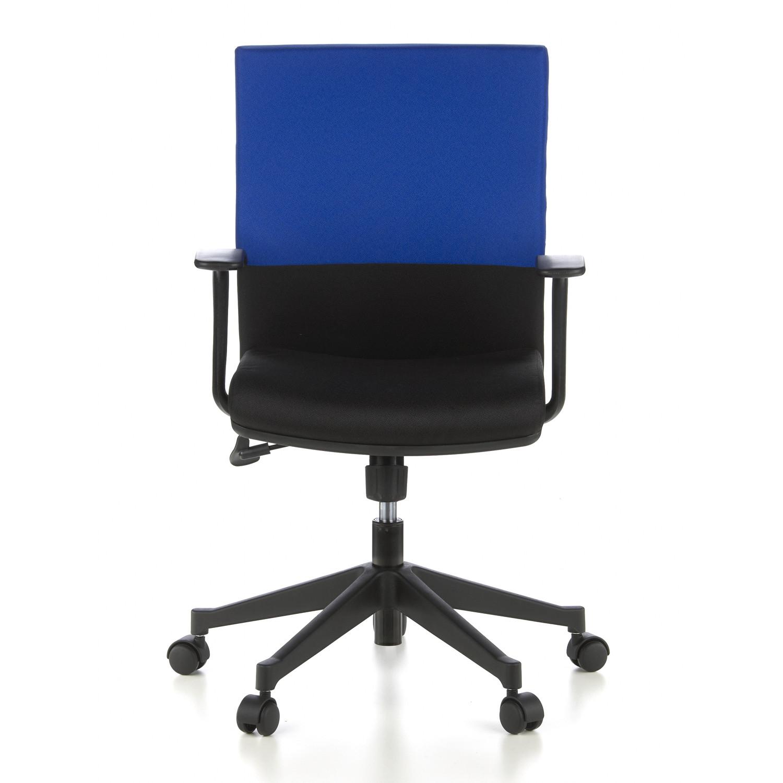 Silla de oficina laguna 8h con asiento muy c modo azul y for Asiento silla oficina