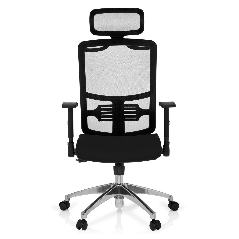 Silla ergon mica caren tapizada en malla transpirable for Soporte lumbar silla oficina