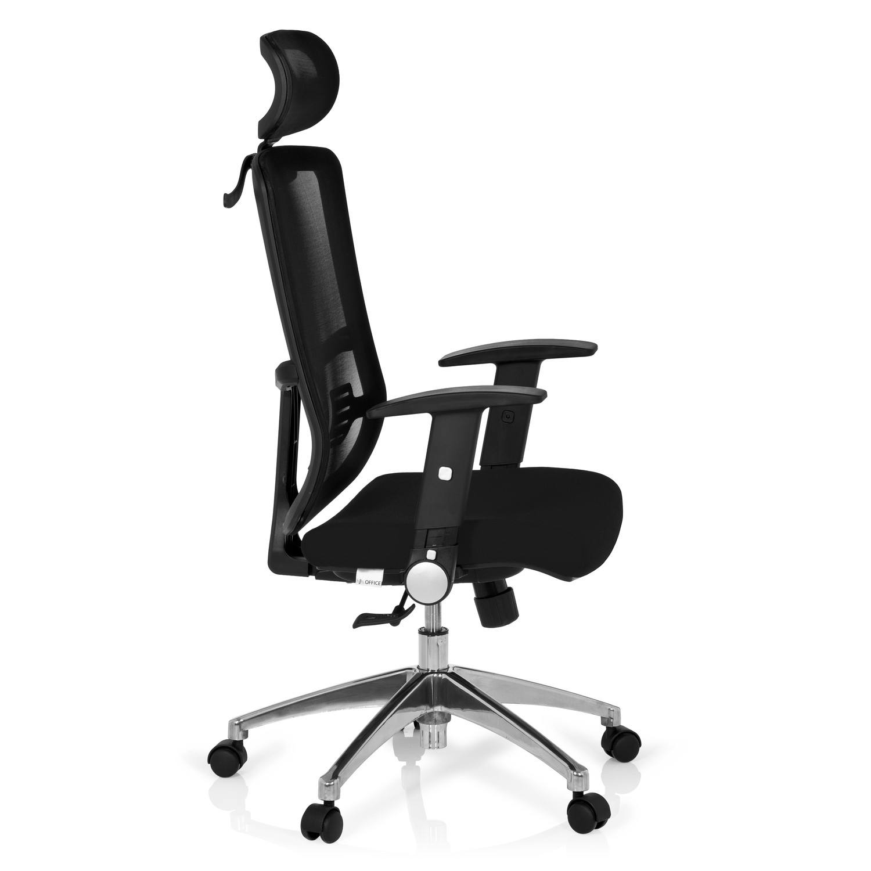 Silla ergon mica caren tapizada en malla transpirable for Silla ergonomica oficina