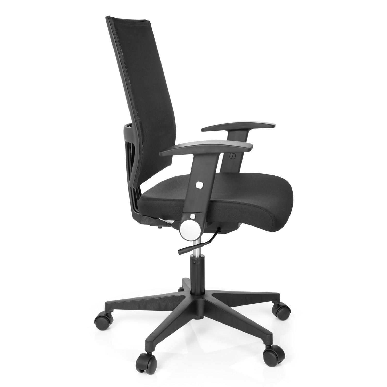 Silla de oficina soho soporte lumbar en negro demo for Soporte lumbar silla oficina