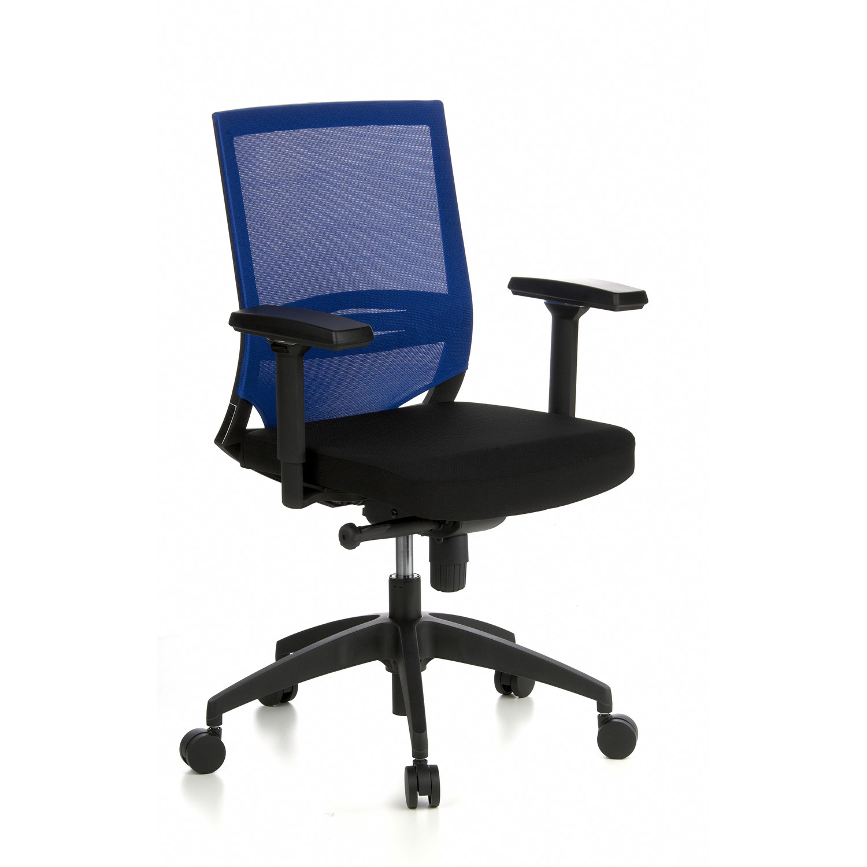 Y Silla Azul 8hSoporte Uso Lumbar Modelo CarinaAdaptada Oficina De En Negro Ajustable HD9EI2