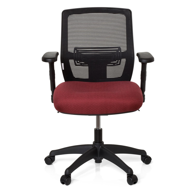 Silla de oficina aquiles uso 8h soporte lumbar burdeos for Soporte lumbar silla oficina