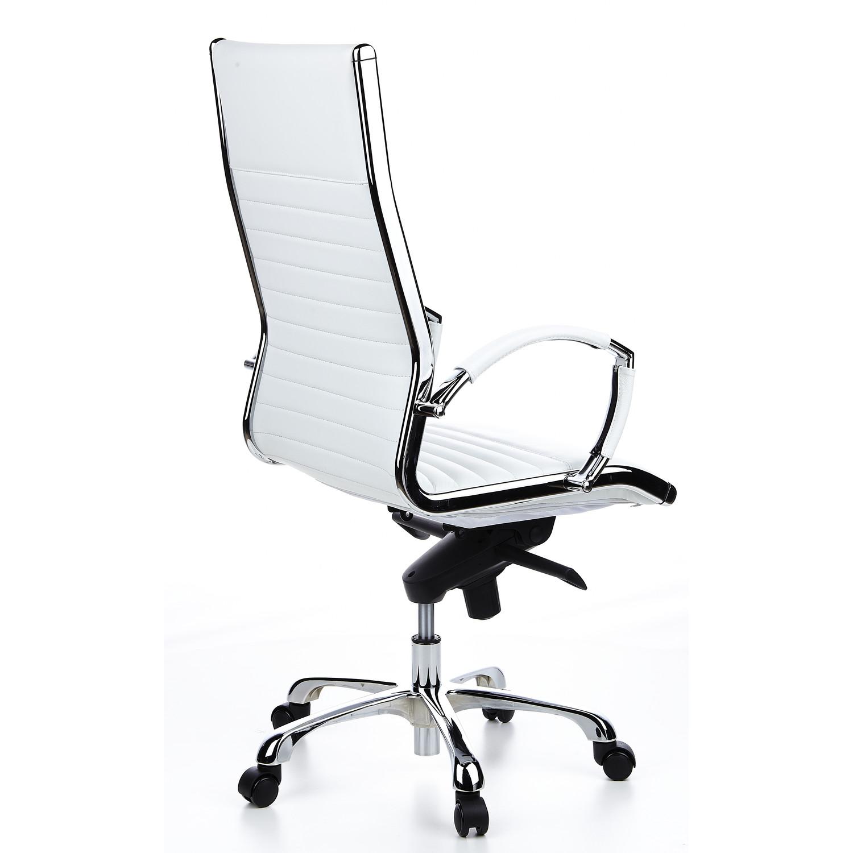 Silla ergon mica palma en cuero fino cromada color for Diseno de silla ergonomica