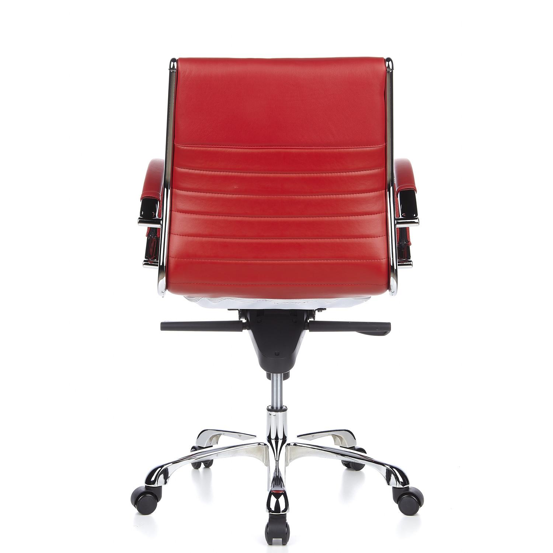 Silla de oficina palma 10 dise o elegante en cuero fino for Diseno de silla ergonomica