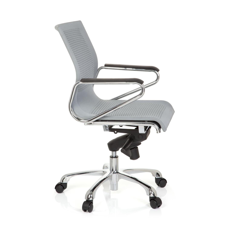 Silla de oficina paloma estructura metal en tela gris for Silla oficina diseno