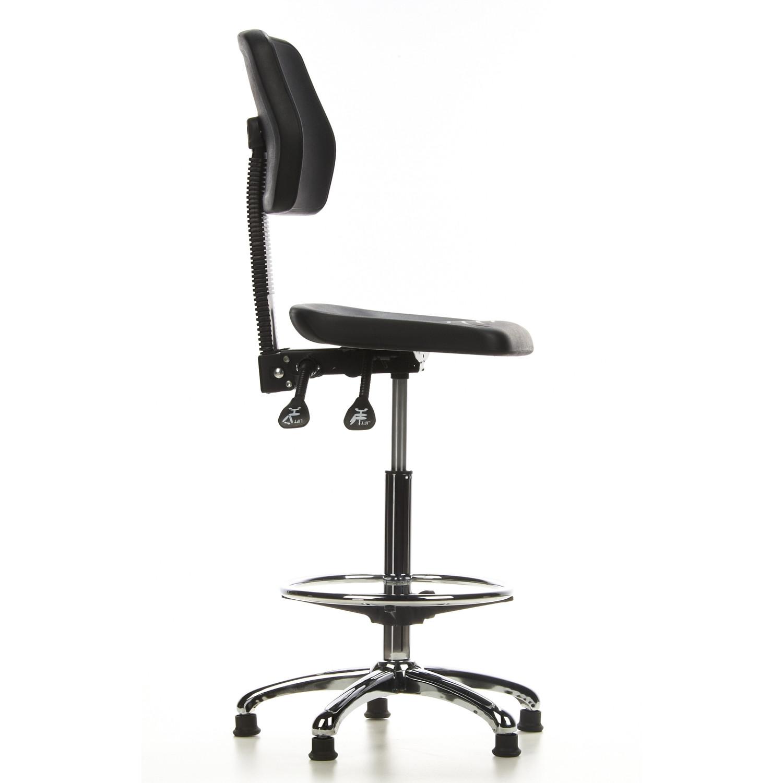 taburete de oficina con ruedas work 11 ajustable respaldo