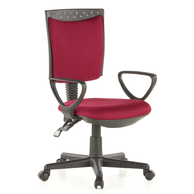 Silla de oficina city 40 acolchada y ajustable roja for Sillas de oficina ofertas