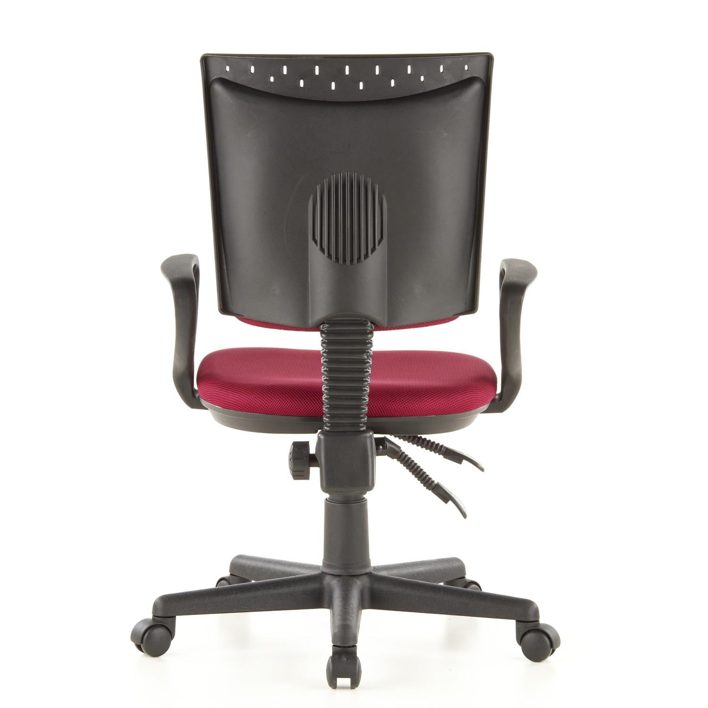 Silla de oficina city 40 acolchada y ajustable roja for Silla oficina oferta